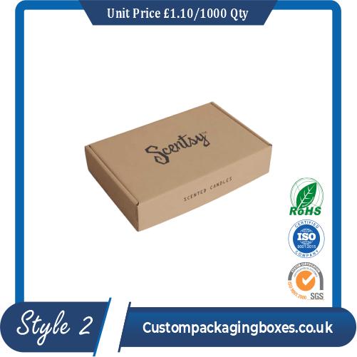 Cardboard Postal Boxes