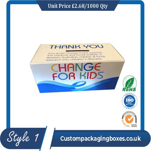 Custom Charity Boxes