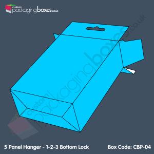 04 - 5 Panel Hanger - 1-2-3 Bottom Lock