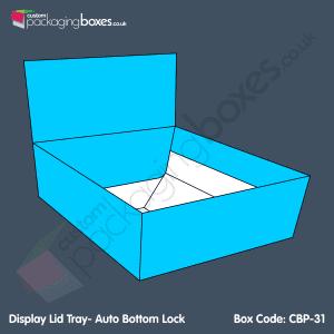 31 - Display Lid Tray- Auto Bottom Lock