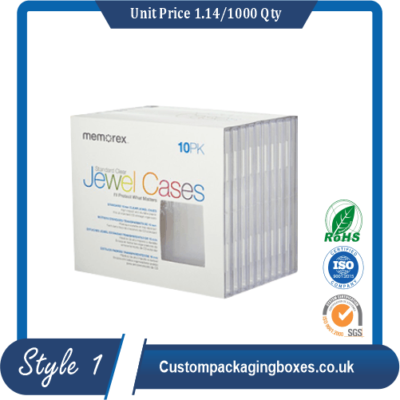 Custom CD Storage Packaging Boxes sample #1