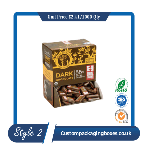 Cakes and Chocolate Counter Packaging Boxes