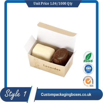 Custom Chocolate Cardboard Boxes sample #1