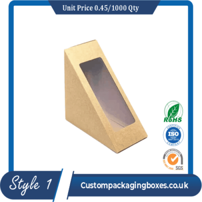 Custom Packaging Boxes with Window sample #1