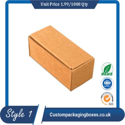 Custom Plain Boxes sample #1