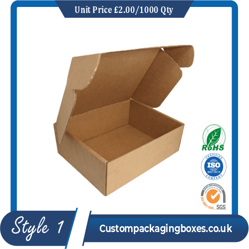 Custom Slotted Packaging Boxes sample #1
