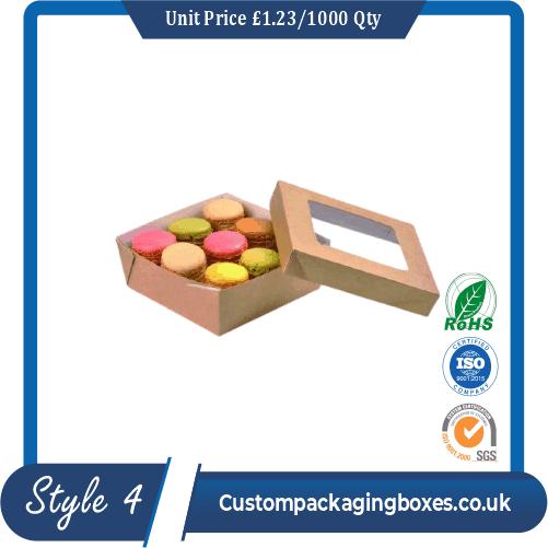 Window Dessert Packaging Boxes