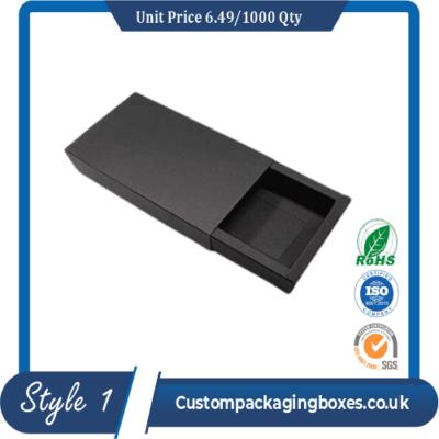 Custom Window Tie Packaging Boxes sample #1