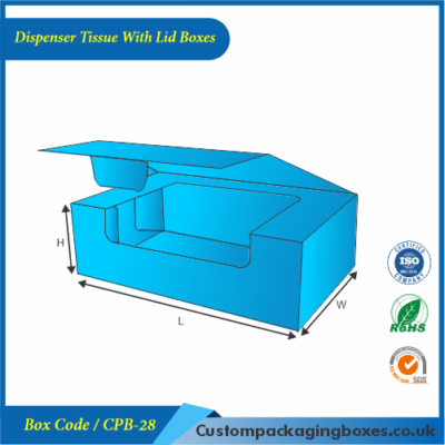 Dispenser Tissue With Lid Boxes 01