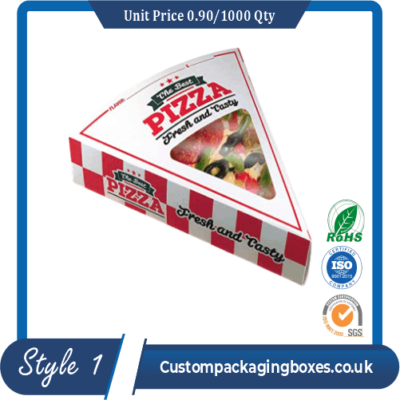 F-flute Pizza Window Boxes sample #1