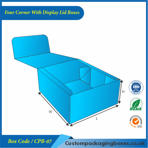 Four Corner With Display Lid Boxes 02