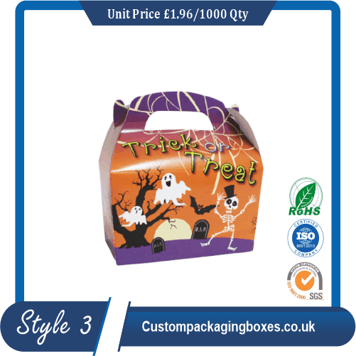 Halloween Packaging Boxes