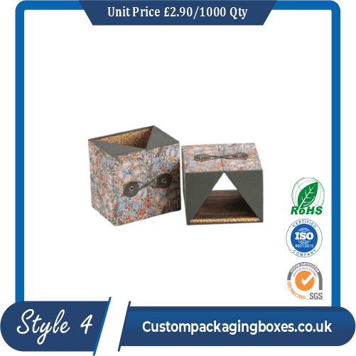 Printed Cream Packaging Boxes