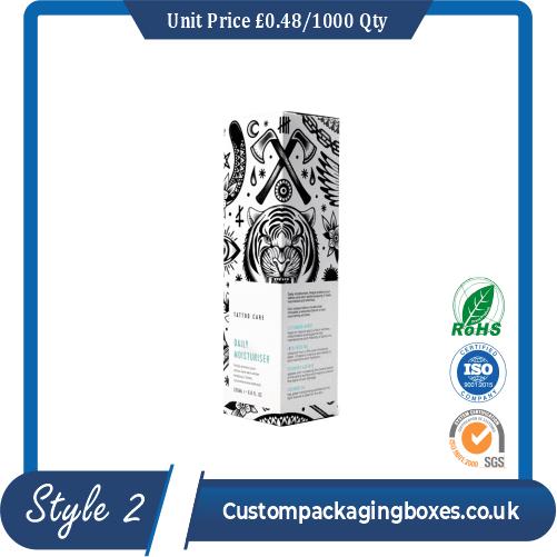 Printed Hair Spray Packaging Boxes
