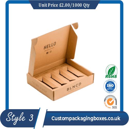 Printed Lip Gloss Packaging Boxes