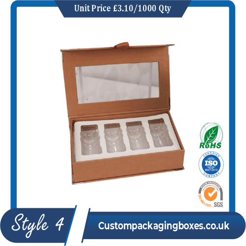 Printed Skin Care Oil Packaging Boxes