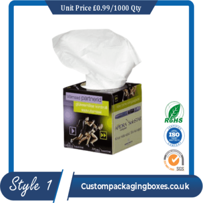Printed Tissue Packaging Boxes sample #1