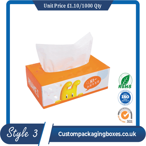 Printed Tissue Packaging Boxes