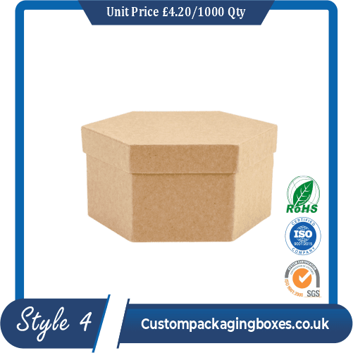 Soap Hexagon Packaging Boxes