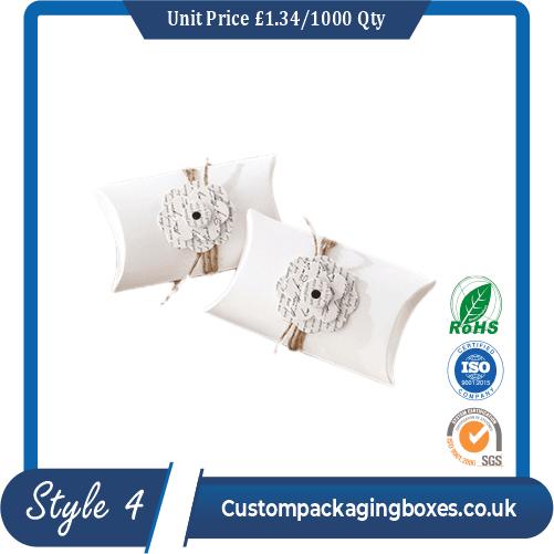 White Pillow Boxes