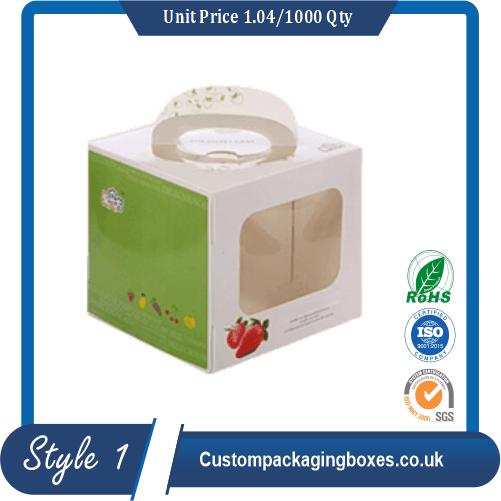 Custom Cardboard Carry Packaging Boxes sample #1