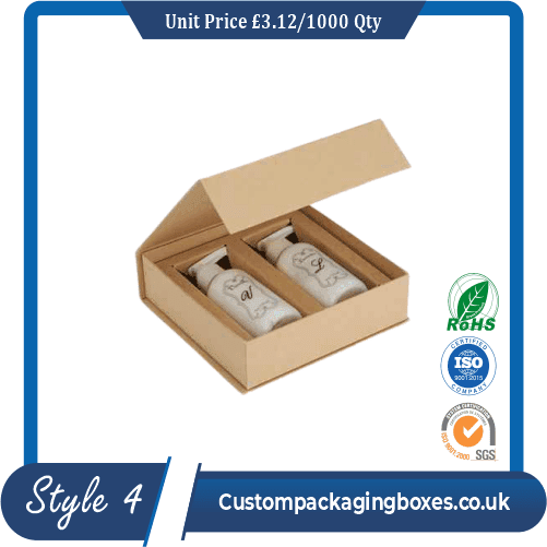Glossy Lotion Packaging Boxes