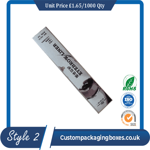 custom printed mascara packaging boxes sample #2