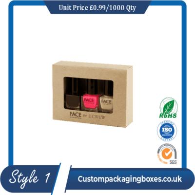 custom printed nail polish packaging boxes sample #1