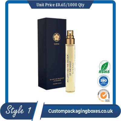 custom printed perfume packaging boxes sample#1