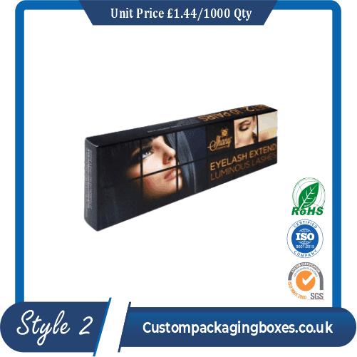 Custom Eyelash Packaging Boxes Sample Style #2