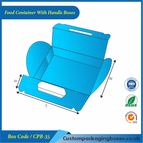 Food Container With Handle Boxes 03