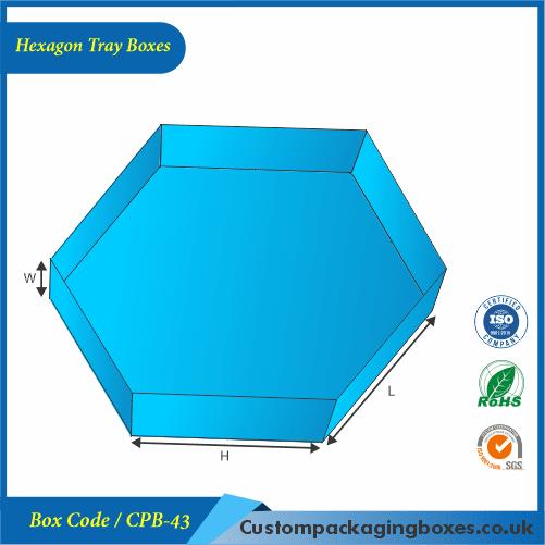 Hexagon Tray Boxes 01