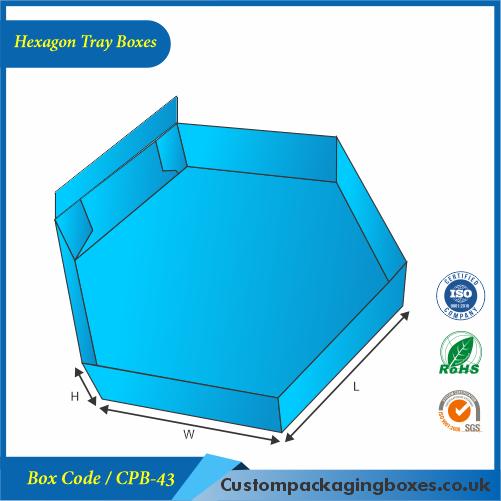 Hexagon Tray Boxes 02