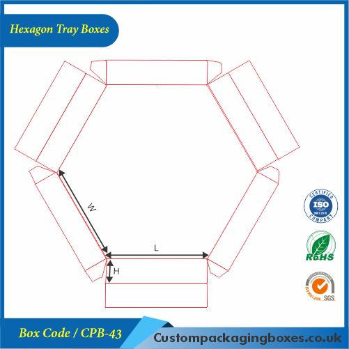 Hexagon Tray Boxes 04