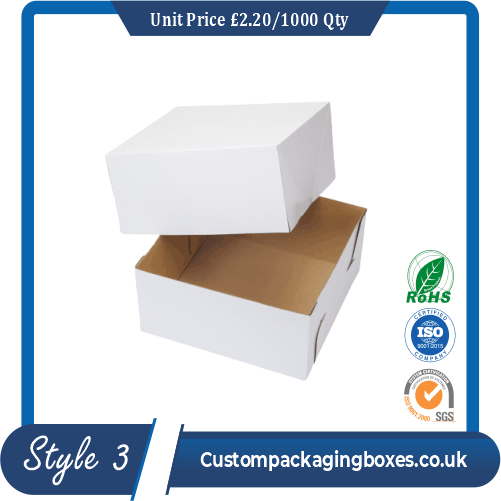 Side Lock Cornner Packaging Boxes