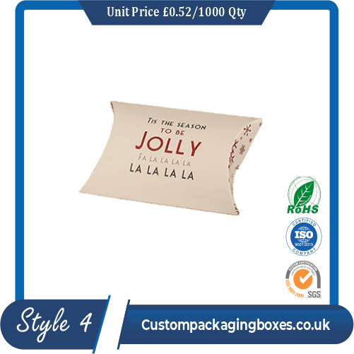 Personalized Pillow Boxes