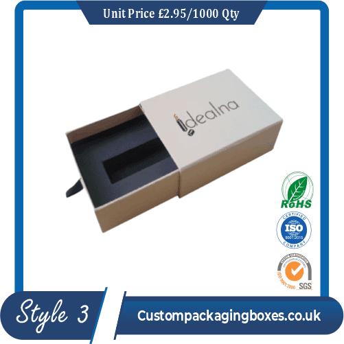 apparel packaging boxes printing sample #3