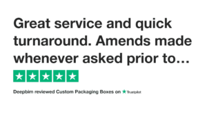 trustpilot-review-for customised packaging boxes uk