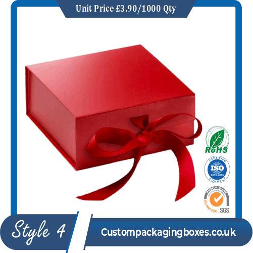 Gift Packaging Box With Magnetic Lid