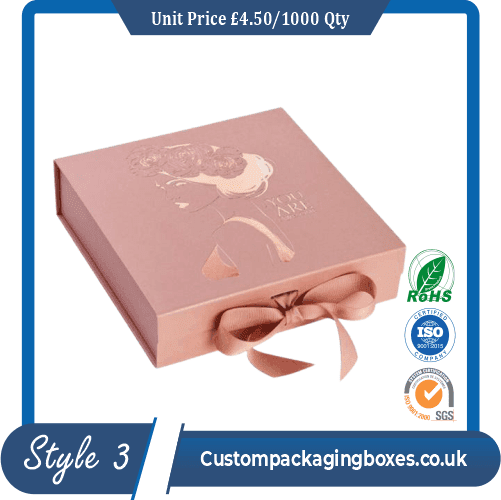 Rigid magnetic boxes with ribbon