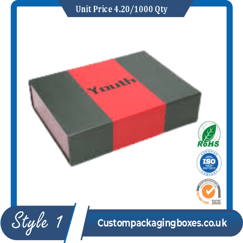 box with magnetic lid