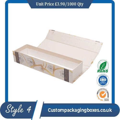 custom magnetic flap Packaging box