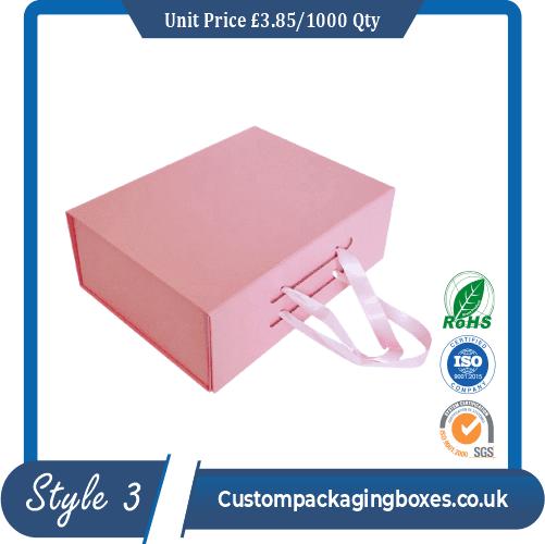 custom magnetic flap Packaging boxes