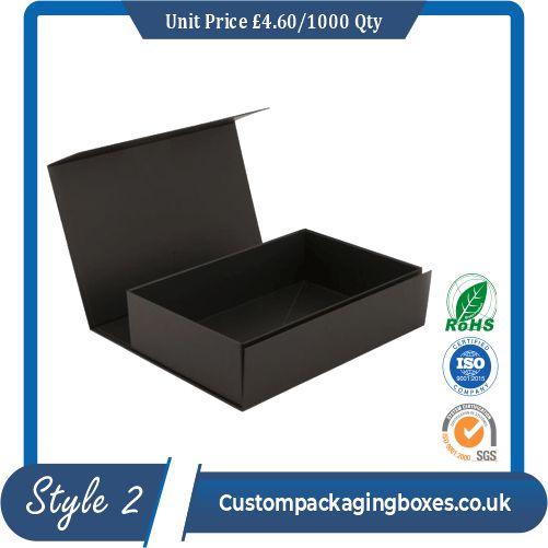 luxury rigid Packaging boxes