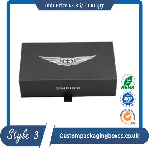 magnetic lid packaging box