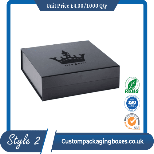 magnetic lid packaging boxes