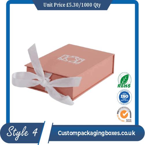 ribbon closure with box