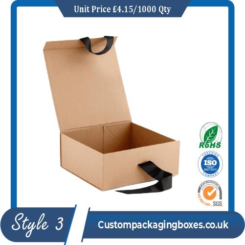 ribbon closure with boxes